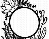 Boho Wreath File
