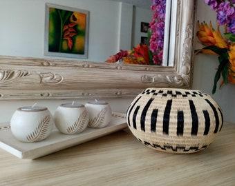 2 tama/ños matches21 Jarrones redondos con borde terracota cer/ámica jarrones de flores de aspecto antiguo jarrones de mesa Vintage Shabby-Chic 1 unidad