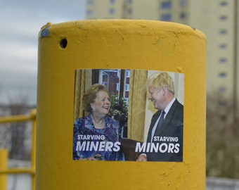 Starving Miners, Starving Minors- Thatcher & Boris