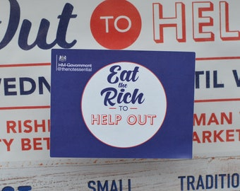 Eat The Rich To Help Out