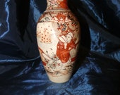 Antique Satsuma Meiji Vase