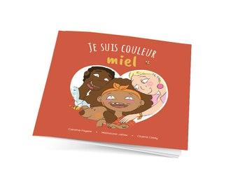 Children's Book on Diversity - I'm Honey Color