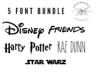 Fonts For Cricut-Font Bundle-Cricut Fonts-Font-Friends Fonts-Fonts for Cricut-Popular Fonts-Cricut