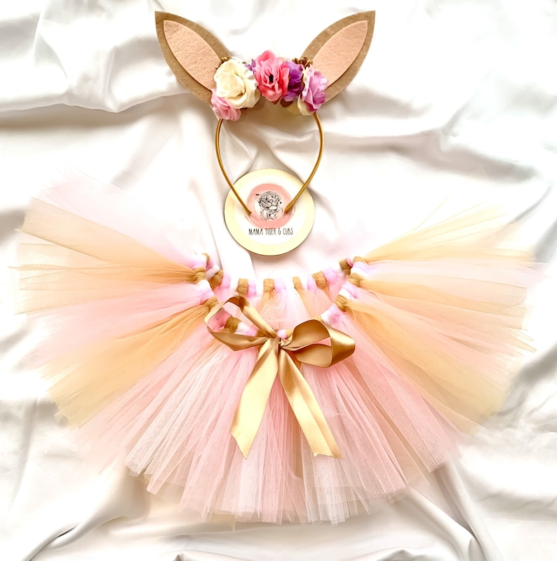 Baby Outfit Handmade Costume Playsuit Girls Fluffy Bunny Tutu Easter outfit Toddler Clothes Flower dress Baby Gift Fancy dress