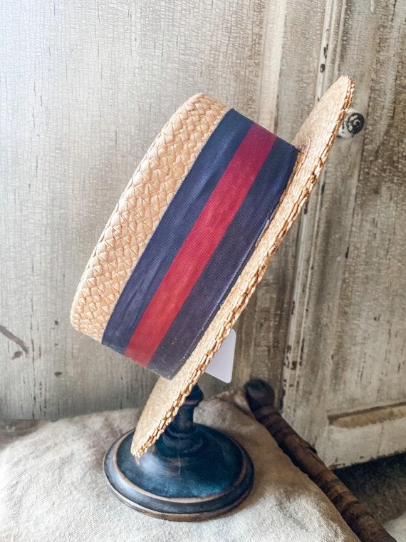 Antique Derby Hat/Vintage Derby Hat/Vintage Hat
