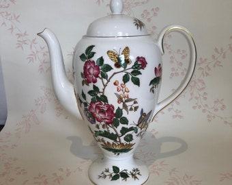WEDGWOOD CHARNWOOD Bone China Coffee Pot - Four Cup - 1960's