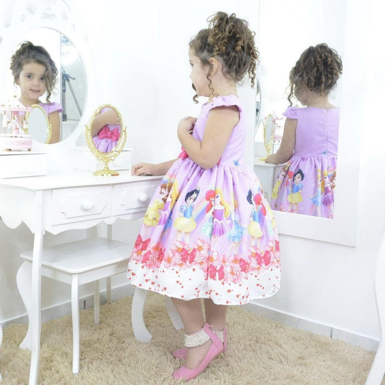 birthday party Girl/'s dress Baby Disney Princesses