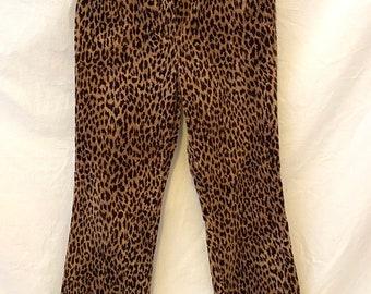 Mens Velvet Unisex Velvet Pants Festival Pants Cheetah Print Velvet Pants Velvet Cheetah Lounge Pants Animal Print Velvet Pants