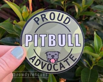 Pitbull Sticker, Proud Pitbull Sticker