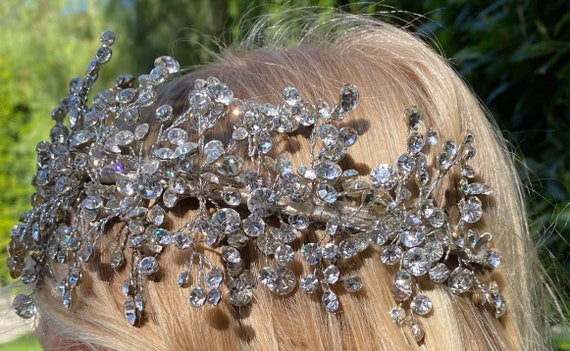 Wedding Tiara Crystal Headband