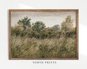 Antique Landscape Painting Vintage Print Cottage Decor PRINTABLE Wall Art 298