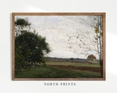 Country Landscape Painting Vintage Print Farmhouse PRINTABLE Wall Art 264