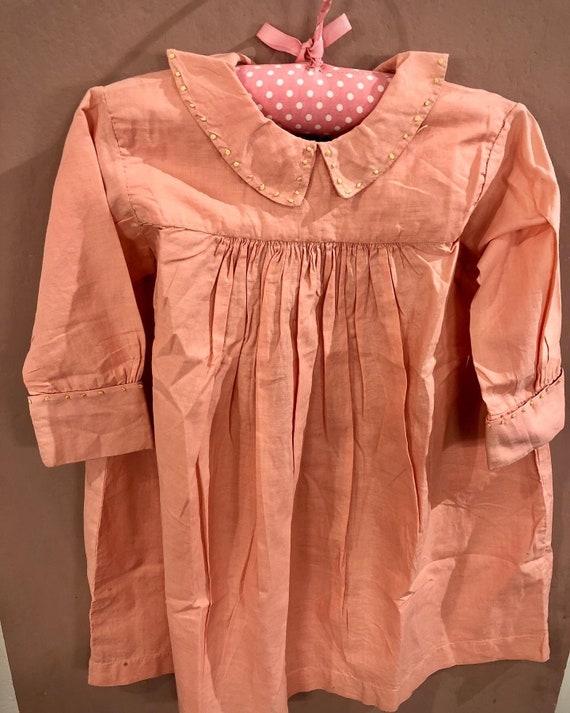 Victorian child dress