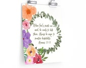 Christian Wall Decor - Helping Others Scripture
