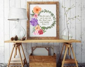 Scripture About Helping Others Christian Bible Verse Printable Wall Decor