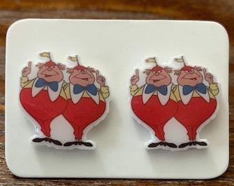 Tweedles Stud Earrings