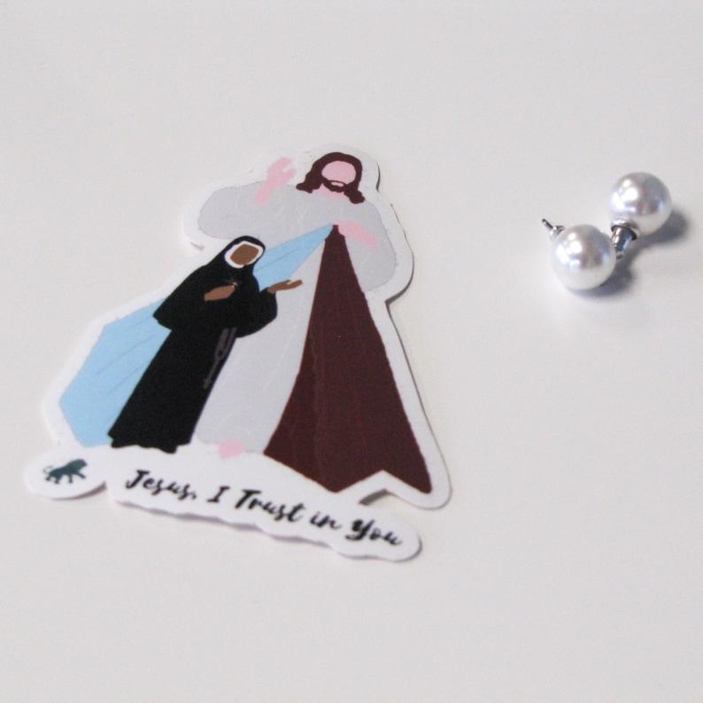 Divine Mercy Sticker image 0