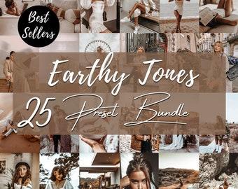 25 Earthy Mobile Lightroom Presets   Earthy Presets   Blogger Presets   Bright Presets   Warm Presets   Instagram Presets   Moody Presets