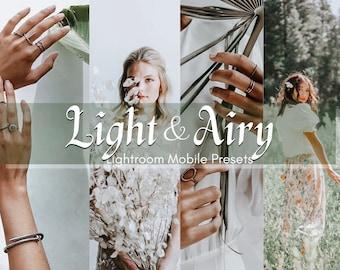 3 Bright Lightroom Mobile Presets   Bright Presets   Blogger Presets   Mobile Presets   Light Presets   Instagram Presets