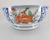 Vintage Porcelain Imari Ware, Imari Bowl Japan