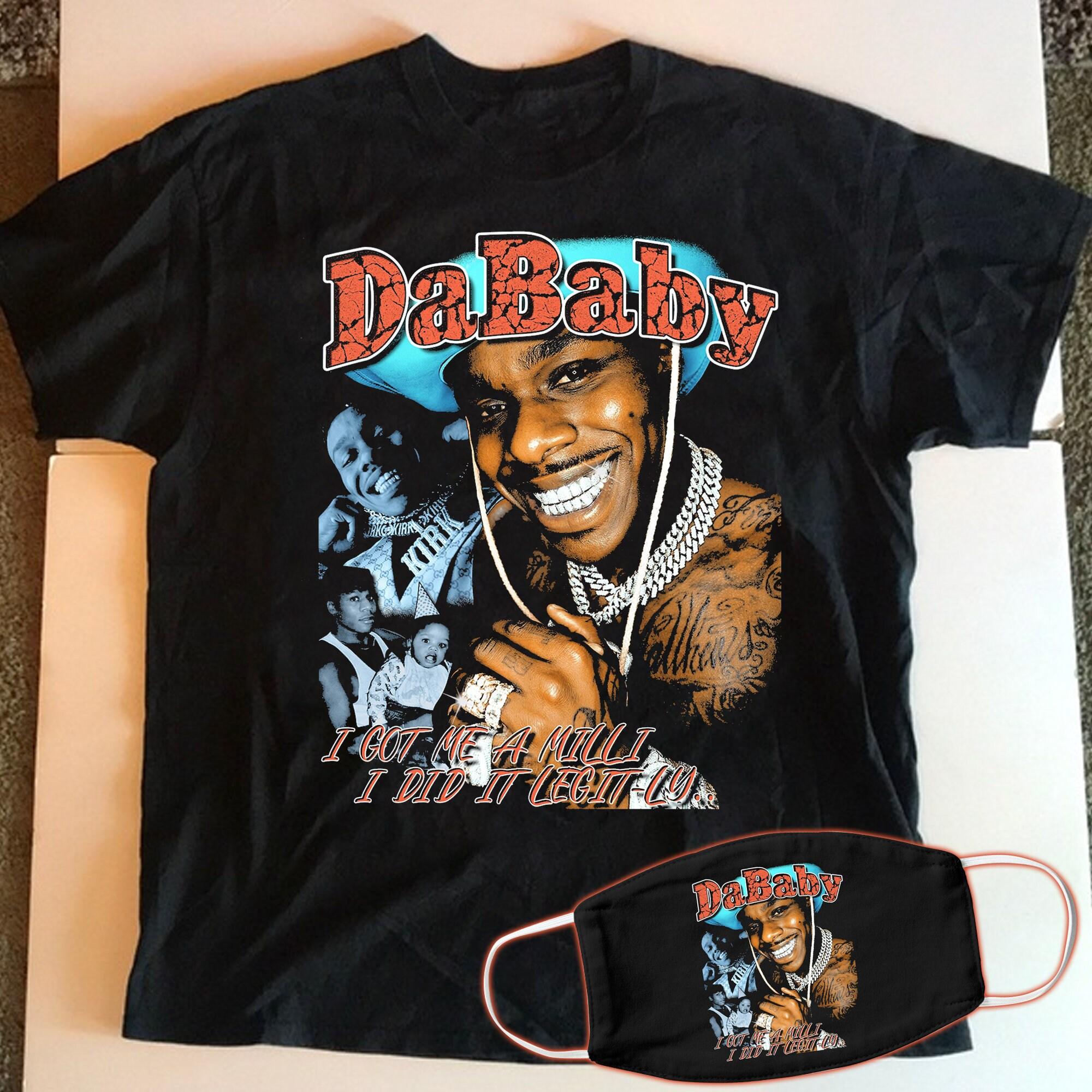 Dababy I Got Me A Milli I Did It Legit Ly T Shirt Dababy Etsy