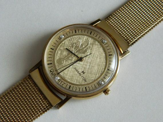 Vintage Hamilton Western Electric men's wrist watc
