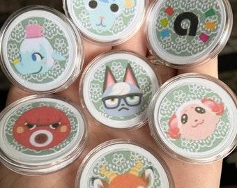 Animal Crossing Amiibo Coins (RAYMOND/SHINO/Dom/Judy/Sherb/Sasha PREORDER