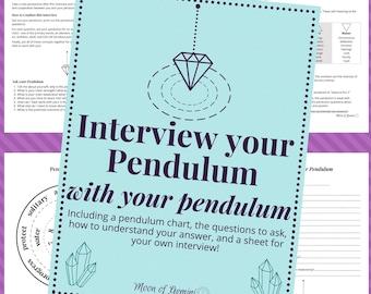 Pendulum Interview Chart and Workbook