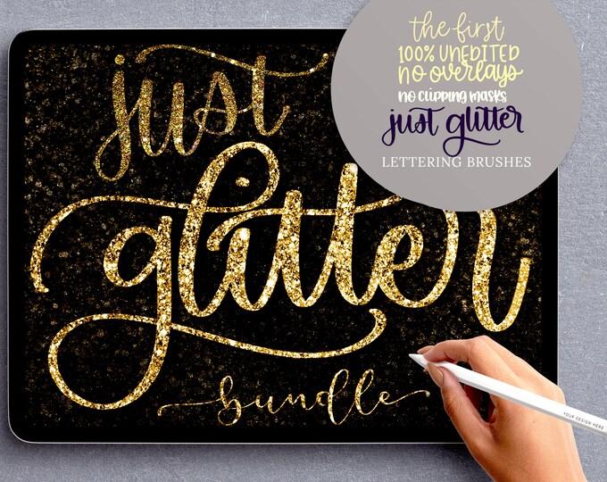 11 Procreate Glitter Brushes, Procreate Brushes, Glitter brushes Procreate, ACTUALLY SPARKLY