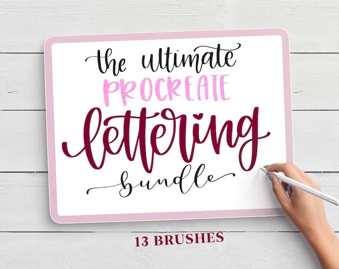 The Ultimate Procreate Lettering Brush Bundle
