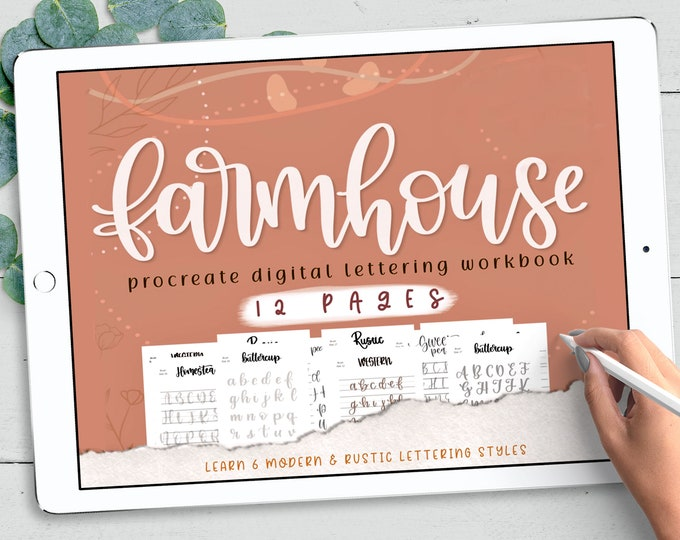 Farmhouse Procreate Brush Bundle