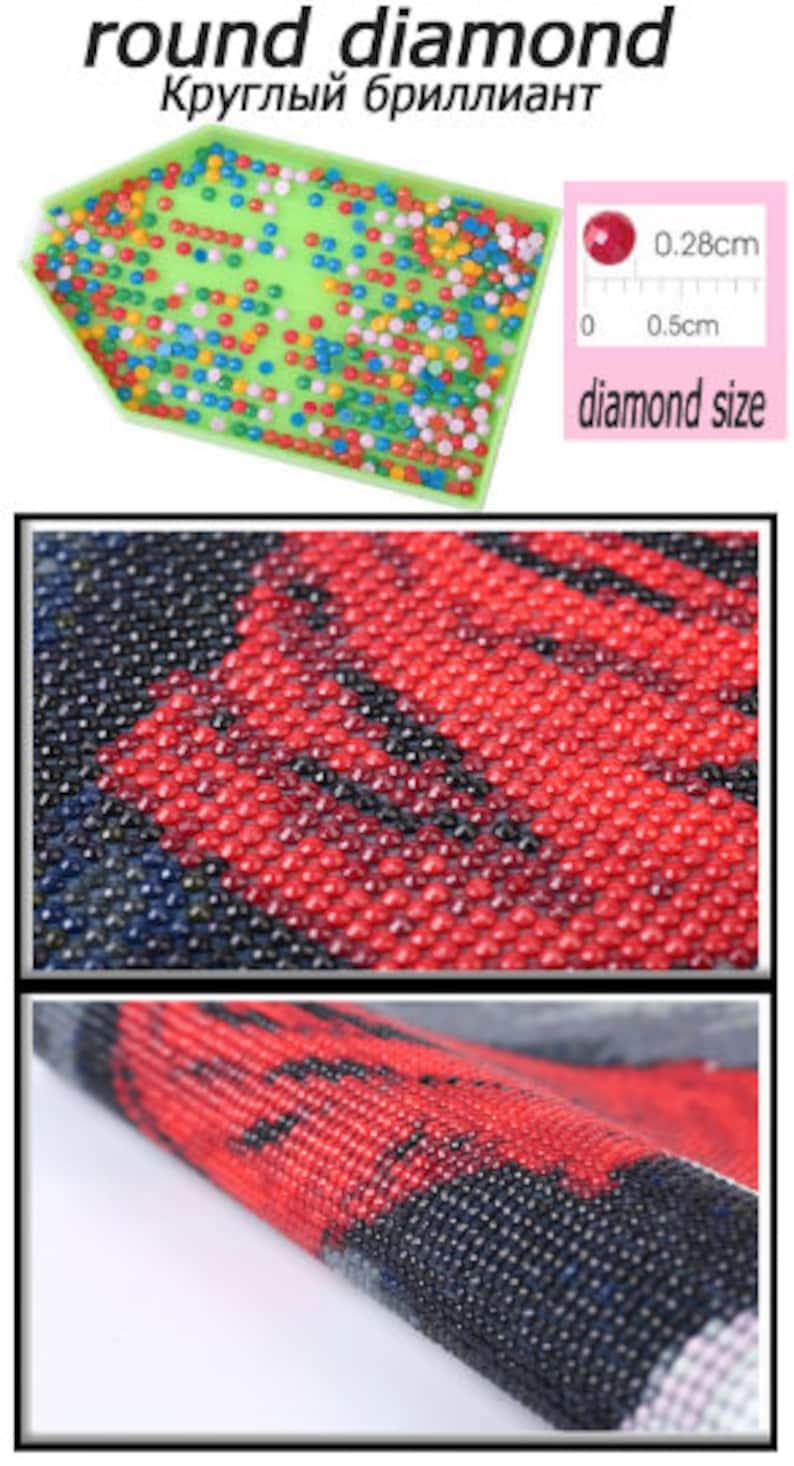 diamond embroidery 3D square superstar Elvis 5D Special shape cross stitch diamond mosaic diamond painting Christmas home decoration