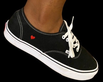 Embroidered Vans | Etsy
