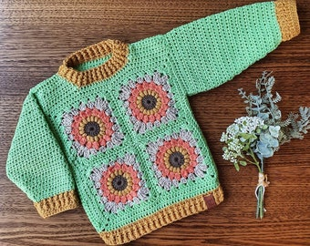 Made To Order   The Sunflower Sweater   Girls Clothing