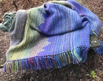 Hand-woven Mohair Throw