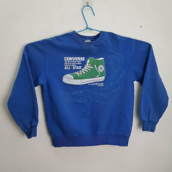 Converse Sweatshirt Crewneck With Shoes Pictures