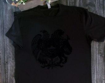 The National Coat of Arms of Armenia  T shirts Flock Vinyl  Cut   Armenian t shirt