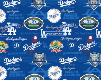 Los Angeles Dodgers - Cotton Fabric Stadium