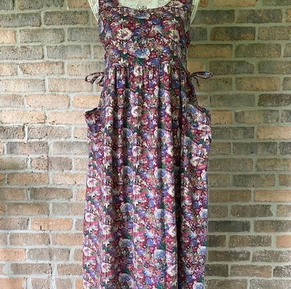 Vintage Laura Ashley Apron Dress