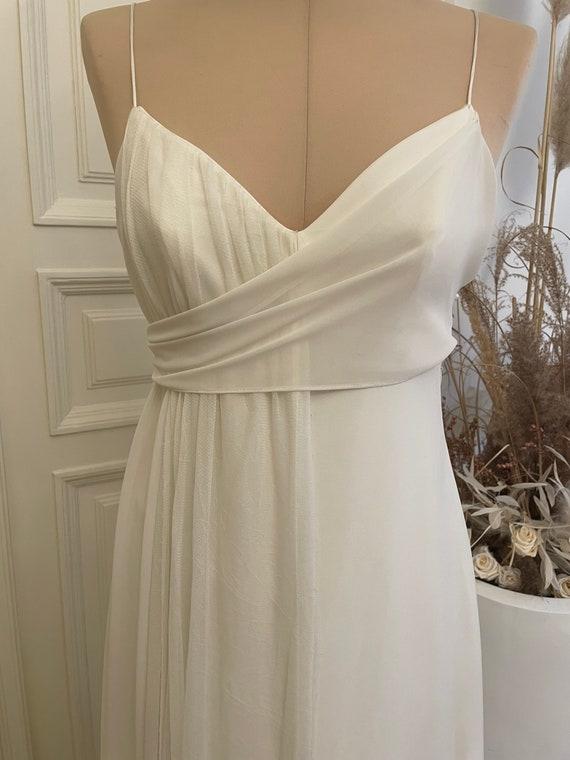 Vintage designer wedding dress