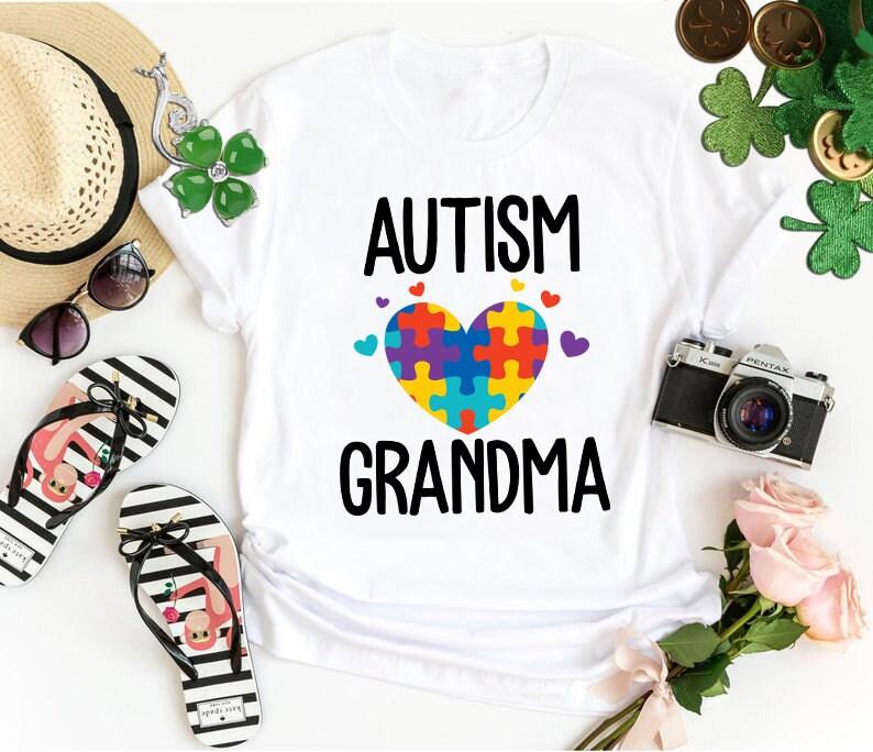 Grandma Shirt Autism Awareness Shirt Autism Shirt Autism Grandma Shirt Autism Puzzle Autism Awareness Month Autism Family Matching