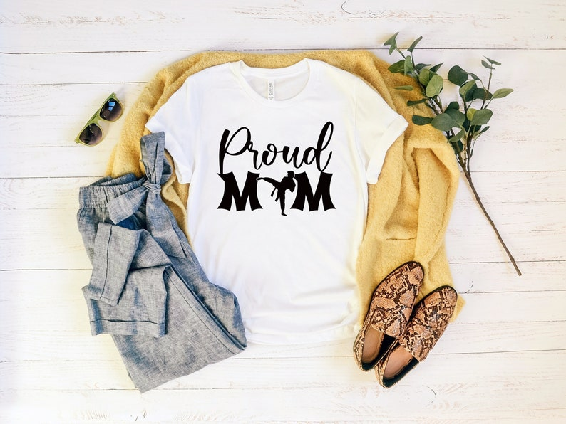 Girl Karate Shirt Karate Mom Shirt Proud Karate Mom Shirt Karatedo Shirt Mothers Day Gifts Gift For Mom Mothers Day Shirt Mom Shirt