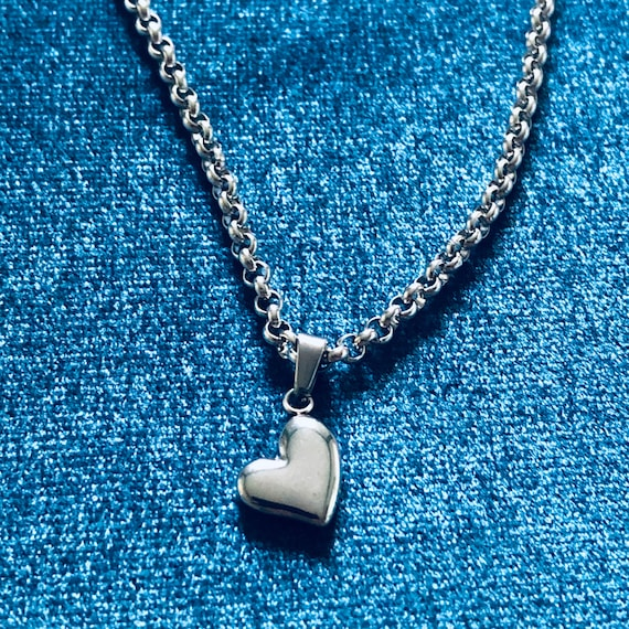 Heart of Steel Necklace