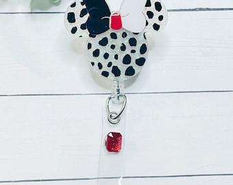 101 Dalmations Phone Grip Badge Reel