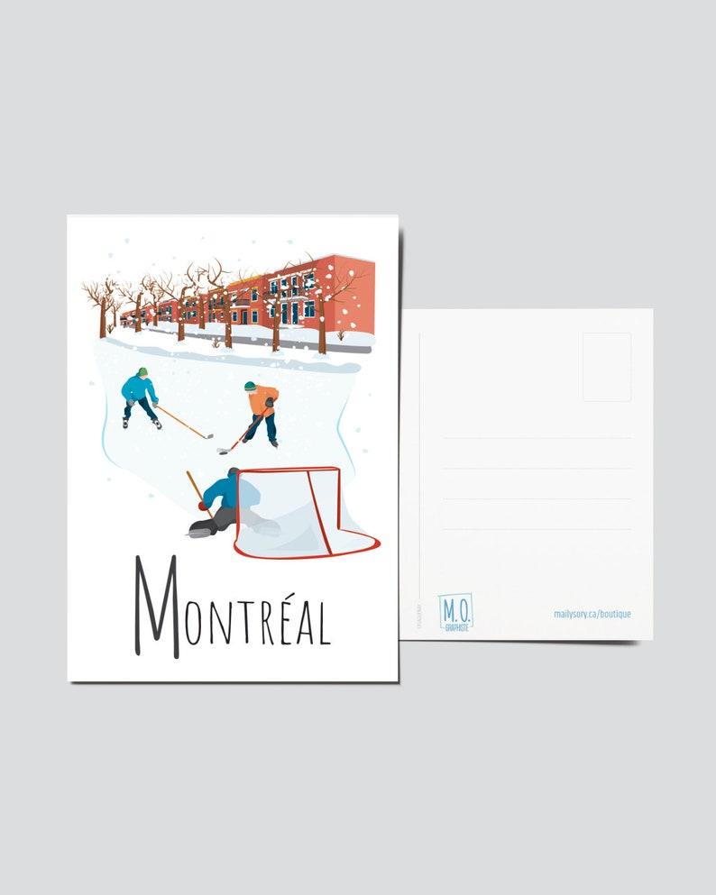 Quebec Postcard  Illustration Montréal  Quebec Region  image 1