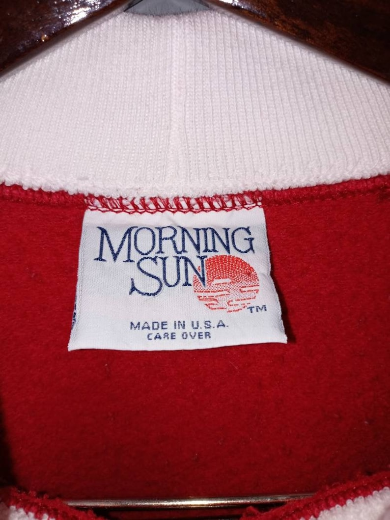 Vintage sweatshirt Morning Sun