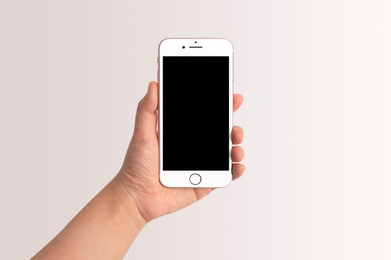 Mockup Image iPhone Mockup Hand Holding Smartphone Mockup Social Media Phone Mockup iPhone Screen iPhone Photo