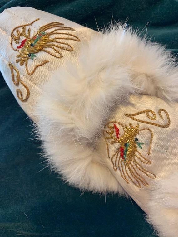 Silk slippers - image 4