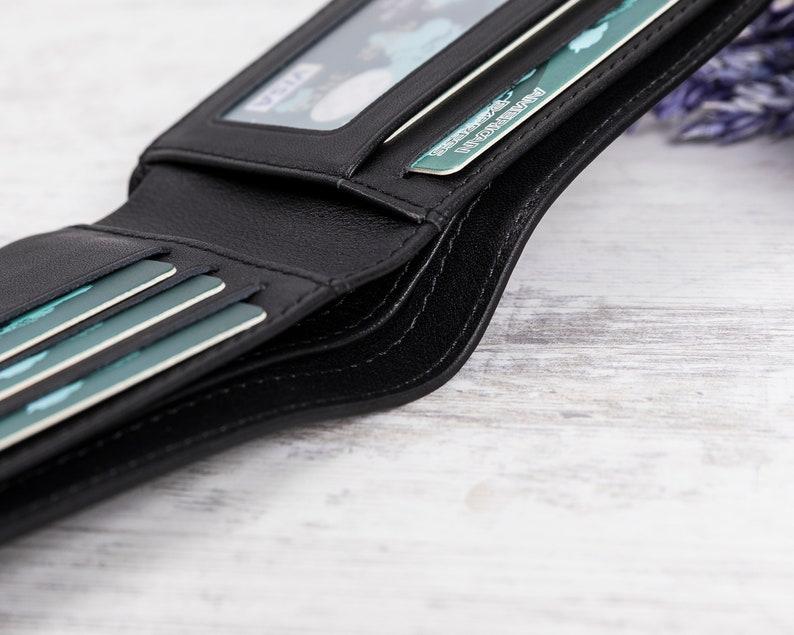 Unisex Gifts Dad Gift Men/'s Wallet Leather Wallet Groomsman Wallet