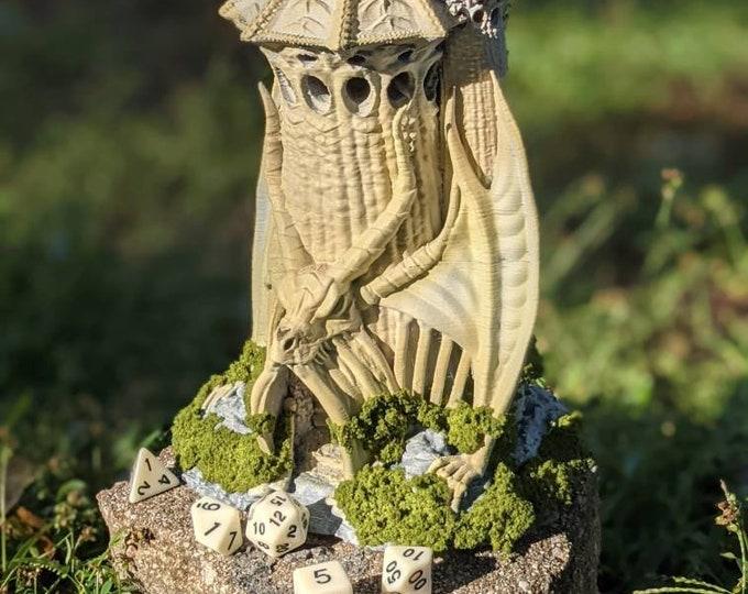 Skeletal Dragon Dice Tower